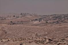 Jüdische Siedlung in der Westbank, zwischen Bethlehem und Ramallah.