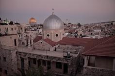 Blick über Ostjerusalem.