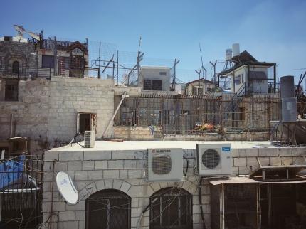 Jüdische Siedlung in Ostjerusalem.