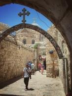 Kirche in Ostjerusalem.