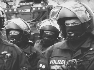 Polizei im Dauerstress